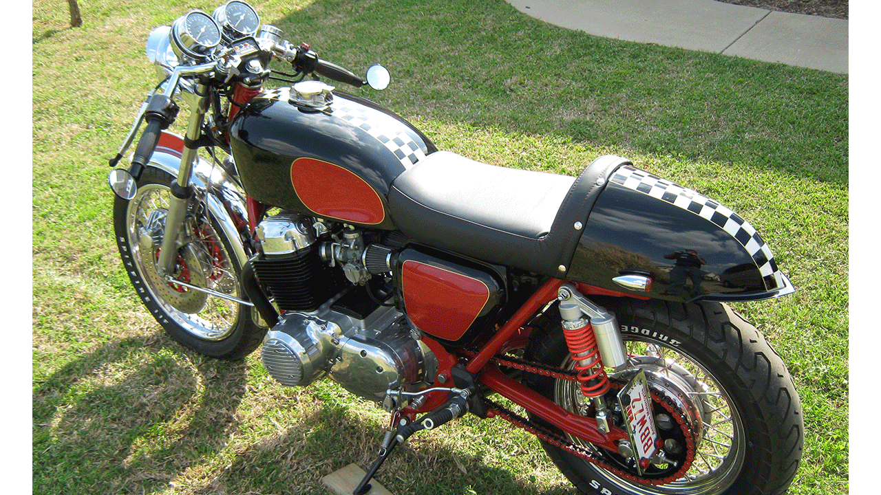 1976 Honda Cb 750 Four Custom Cafe Racer Larry Lawrence Enterprises