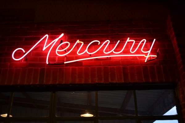 Neon Lincoln & Mercury Dealership Signs