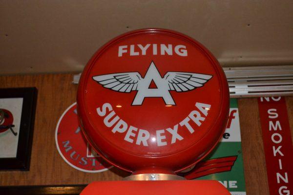 "Southwest Pump Co. Flying ""A"" Gas Pump"