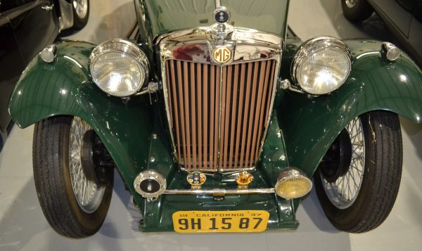 1947 MG TC 2-door Roadster