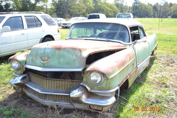 1956 Cadillac Coupe de Ville 2dr Hardtop *Parts Car*