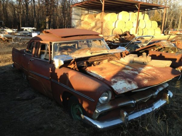 1956 Plymouth Savoy Sedan *Parts Car*