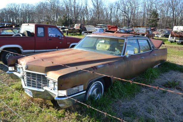 1969 Cadillac Brougham *Parts Car* - Larry Lawrence Enterprises