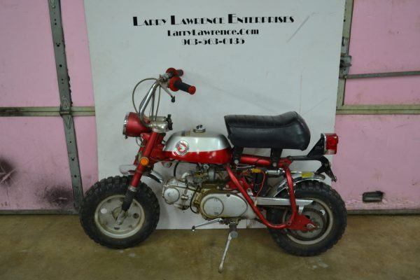 1970 Honda Z-50A Mini Trail Motorcycle