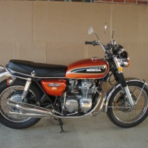 1975 Honda 550 Four Motorcycle