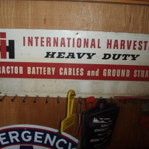 International Harvester Battery Cable Display Rack